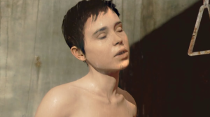 What is it with Cage and shower scenes? Fucking pervert!